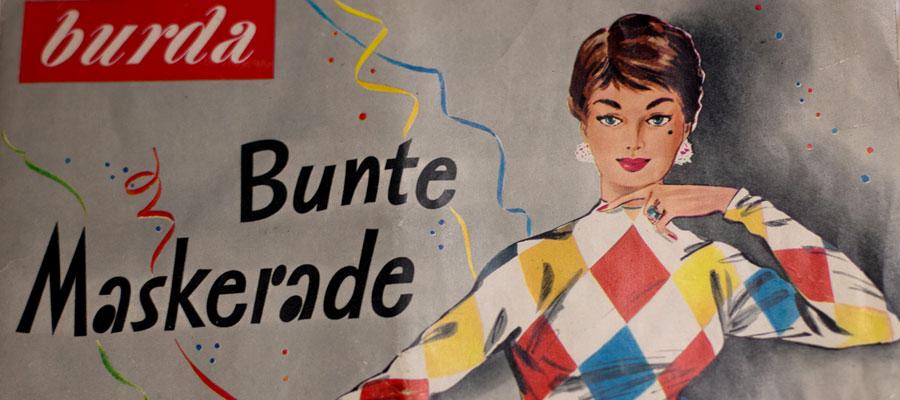 Vintage Karneval – Burda Fasching 1956