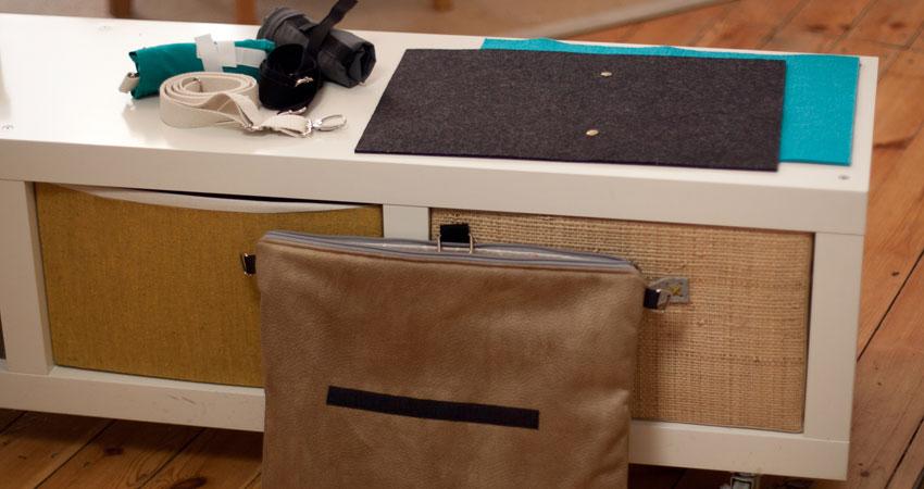 Praktisch schön – Laptop Reisetasche