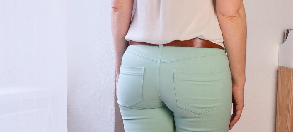 Skinny Jeans im zweiten Frühling