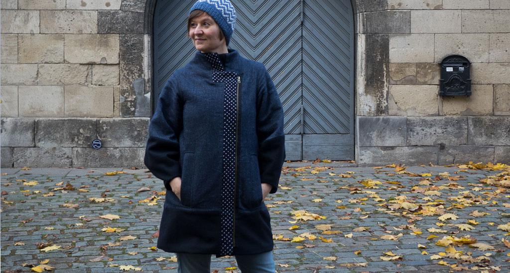 Herrera Coat – Sashiko Style