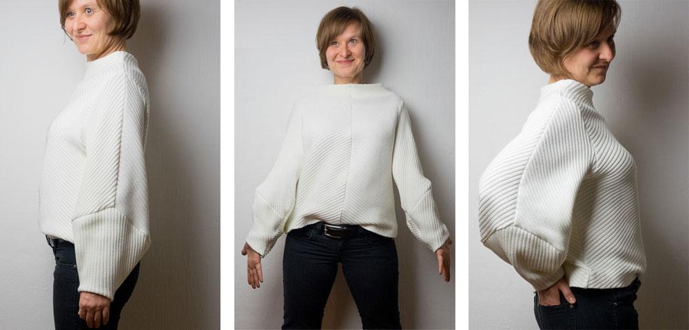Herrera Sweater mit Struktur