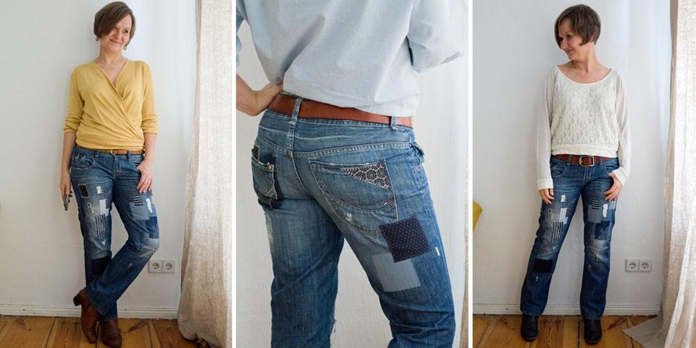 Upcycling Stories #5 – Eine  Boro Jeans für die Ewigkeit