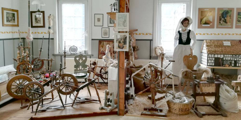 Im Leinen- und Spitzenmuseum