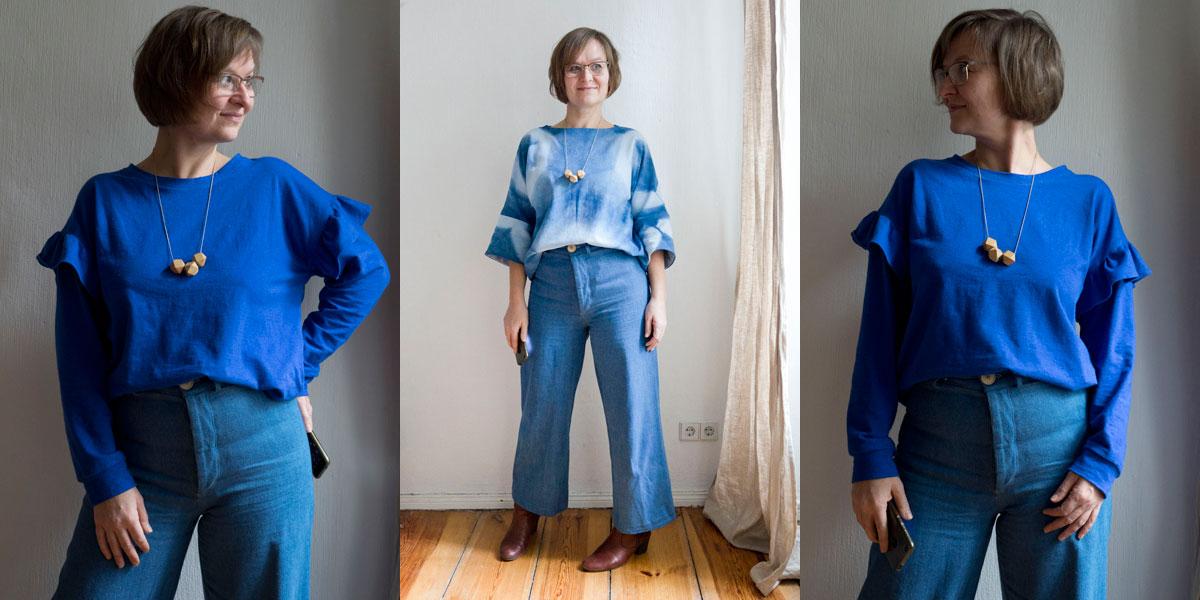 Blau, blau, blau sind alle meine (japanischen) Kleider…